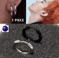 Gothic Stainless Steel Hoop Fashion Earrings