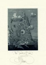 Exlibris by K. Kalinovich THE TOWER OF BABEL Original Signed E.A.