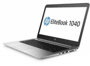 """HP EliteBook Folio 1040 G3 i7 6600U 8GB 256GB SSD WEBCAM WIFI HDMI W10 14"""" FHD"""