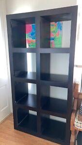 8 cube bookcase / shelving