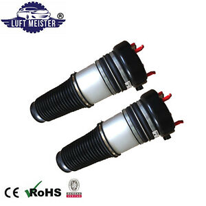Pair Front Air Suspension Spring for Audi A6 (4F, C6, S6, A6L, Avant) 2004-2011