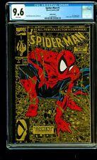 SPIDER-MAN #1 GOLD COVER 2ND PRINT EDITION MCFARLANE 1990 CGC 9.6 MARVEL COMICS