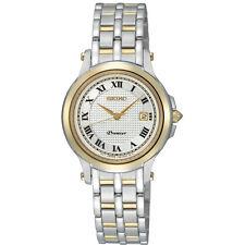 Seiko Premier SXDE02 SXDE02P1 Ladies two-tone Watch WR100m NEW RRP $650.00