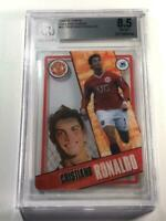 CRISTIANO RONALDO 2006 TOPPS ENGLAND iCARDS ACETATE INSERT CARD BGS 8.5 EPL