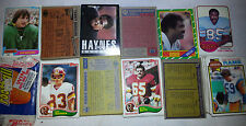 COMPLETE YOUR SET (Pick 25) 1979 1981 1982 1984 1985 1986 Topps Football