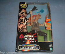 STAR WARS VINTAGE (c)1999 HASBRO - JAR JAR BINKS ELECTRONIQUE (neuf)