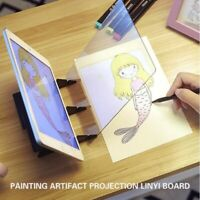Sketch Tracing Drawing Board Optical Draw Projector Painting Reflection Panel