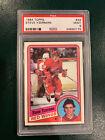 1984-85 Topps Steve Yzerman Rookie Card RC #49 Red Wings PSA 9 MINT