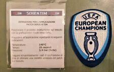 patch toppa badge uefa 2020 2021 european italia champions logo campioni maglia