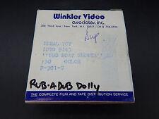 original vintage Ideal RUB A DUB DOLLY Tugboat Shower 16mm commercial reel tv ad