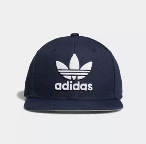 Adidas Originals Trefoil Chain SnapBack Cap Youth, Navy/White