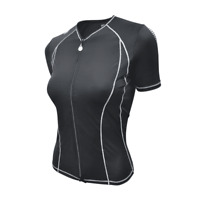 Desoto Women's Femme Skin Cooler Short Sleeve Tri Top - 2021
