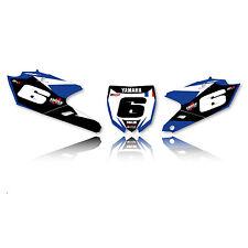 2014 - 2017 YAMAHA YZF 250 YZF 450 Team Kemea Motocross Dirt Bike Number Plates
