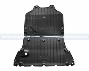 Undertray Under Engine & Gearbox Cover Rust Shield for Audi A4 B9 2015-on