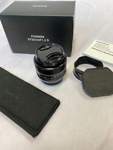 Fujifilm Fujinon XF35mm F1.4 R Objektiv * sehr gut * OVP * Fuji Pro Service