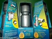 1 New Retail Box Clear 2 Go No BPA Water Bottle US NASA Filter 100ga filtration