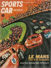 SPORTS CAR GRAPHIC 1964 SEPT - LeMANS, ISO A3 GT, MUSTANG-K, TURNER