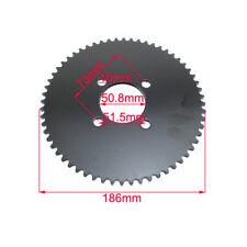 60 Tooth #35 Rear Chain Sprocket For Mini Bike Go Kart Trike ATV Quad