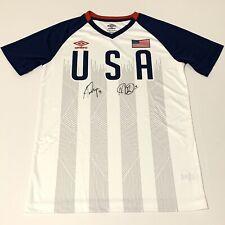 US Women's National Team Megan Rapinoe, Alex Morgan Autographed USA Jersey Shirt