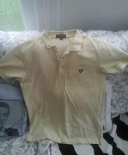 lyle and scott polo shirt size medium great fashion statement