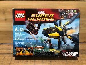 Lego 76019 Starblaster Showdown Guardians of the Galaxy New In Box