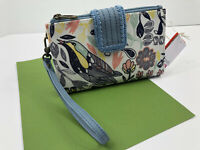 Sakroots Artist Olympic Wristlet Crossbody Wallet PEACE PRINT Bird Phone NWT