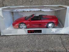 UT Models 1994 Ferrari F 355 Spider 1:18 Scale Diecast Car Red Limited