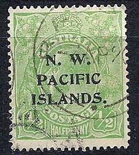 Australia 1918-22 N. W. Pacific Islands Optd. issue 1/2d