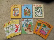 NEW Lot of 8 Dover Little Activity Books: Old MacDonald*Dinosaur*Horse*Coloring
