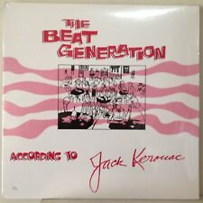 SEALED Jack Kerouac 2011 The Beat Generation 4xLP Doxy 006 #740/1000 HQ180Gr NEW