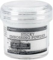 Ranger Sticky Embossing Powder, White