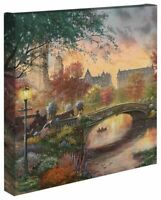 Thomas Kinkade Studios Autumn In New York 14 x 14 Canvas Wrap