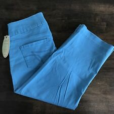 Jag Pull On Dahlia Crop Jeans Maliblue Size 8 Pants Capris Classic Fit with Tags