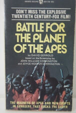 BATTLE FOR THE PLANET OF THE APES-Award Books-1973-1st Paperback!