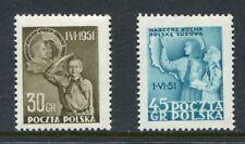 Poland Scott 506-7, Scouting Scouts Set of 2, Polen Mi 688-89 NH