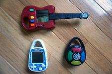 Guitar Hero, Simon, Battleship  Carabiner Clip Handheld Games
