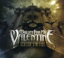 BULLET FOR MY VALENTINE Scream Aim Fire (Gold Series) CD BRAND NEW