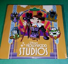 Disney Pins Hollywood Studios Attractions 5 Pin Booster Set Authentic