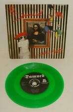 """THE DAMNED LIVELY ARTS 1984 BIG BEAT GREEN VINYL REISSUE UK 7"""" 1st PRESS. P/S"""