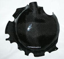 Kawasaki zx6r 07-08 carbon embrague tapa tapa motor cover carbone carbono