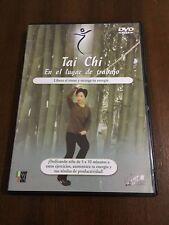 TAI CHI EN EL LUGAR DE TRABAJO - 1 DVD PAL 2 - 55 MIN - CASTELLANO - COMO NUEVO