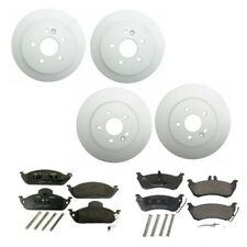 Mercedes W163 ML320 ML350 ML430 Front and Rear Brake Disc Rotors with Pads Kit