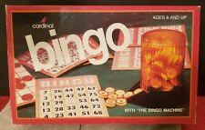 Vintage CARDINAL Bingo Game 1981 Premier Edition Family Parlor Game