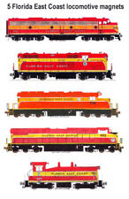 Florida East Coast Champion Locomotives 5 magnets Andy Fletcher