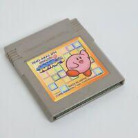 Gameboy KIRBY BLOCK BALL Cartridge Only * Nintendo gbc