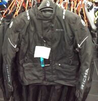 Richa Condor Black Reflective Motorcycle / Motorbike Waterproof Jacket was £150