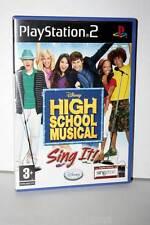 HIGH SCHOOL MUSICAL SING IT GIOCO USATO OTTIMO SONY PS2 ITA SENZA MICROFONI GS1