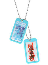Yu-Gi-OH Blue-Eyes White Dragon Dog Tags  NECA