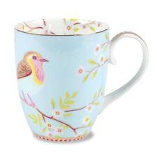 Pip Studio Bird Mug Blue - Elegant!