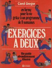 Exercices à Deux - En Forme Programme de 8 Semaines - Carol Gregor FITNESS SPORT